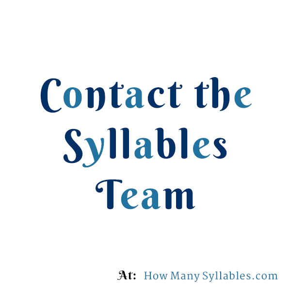 how to tell how many syllables are in a word