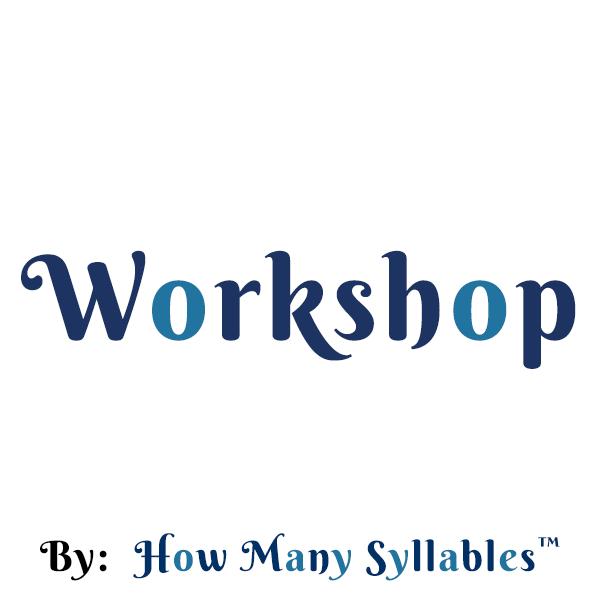 Syllable Counter - Poem & Lyric Workshop